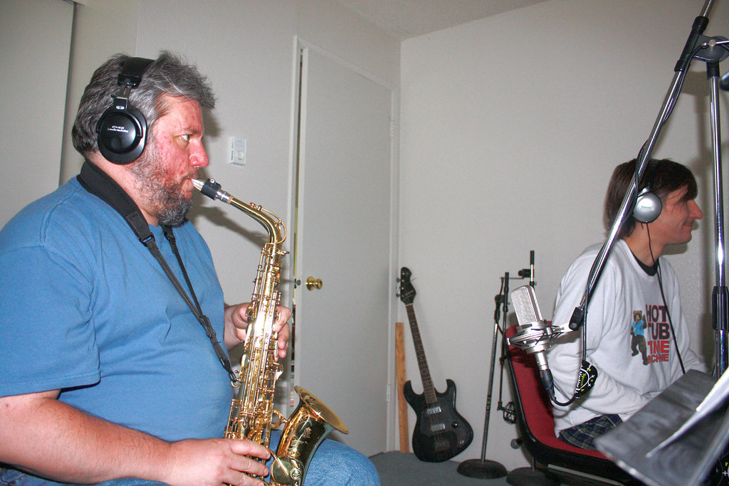 Nick Collins - alto sax