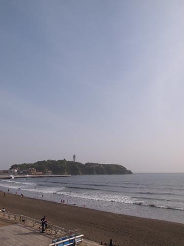 江ノ島 浜辺