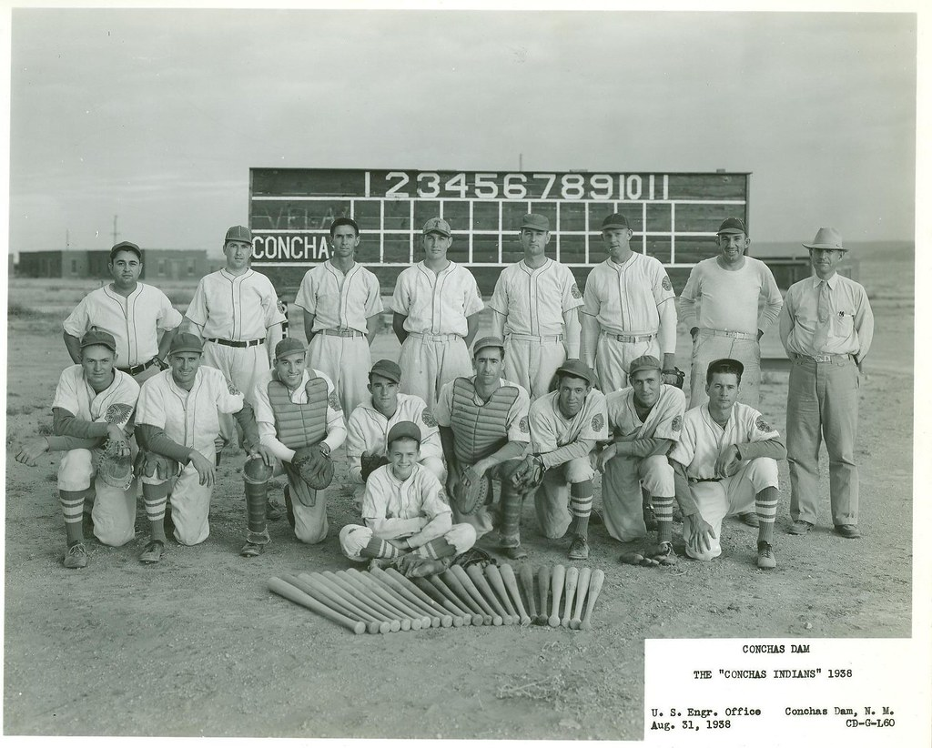 1938 Conchas Indians Players