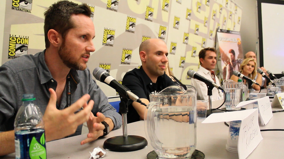 Uncharted 12UNCHARTED 3: Drake's Deception Comic Con Panel