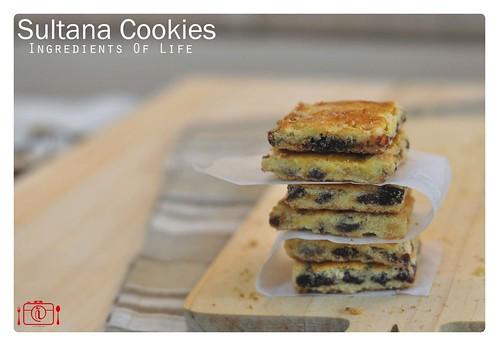 Sultana Cookies 1