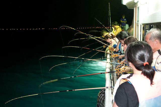 2011澎湖安合順夜釣小管