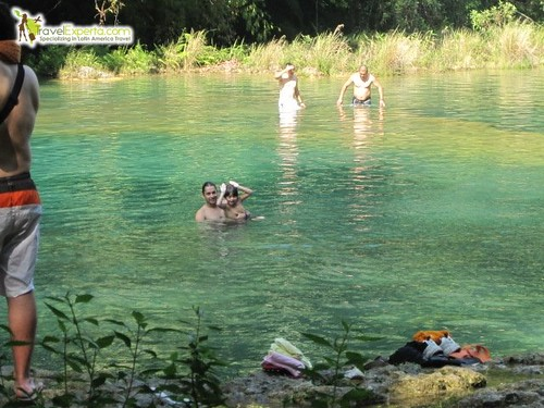 Swimming Hole in Semuc Champey