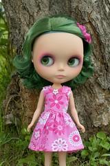 Rag Bag Designs Pink Floral Dress