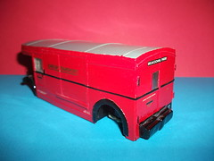 Nearside rear view of LT breakdown tender in 1/50th scale. (Ledlon89) Tags: bus london transport lt londonbus solido scalemodels scaleddown diecastmodels aecregent ltsv modelbusesandcoaches servicevehilce