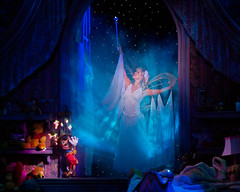 The Blue Fairy Grants a Wish (Peter E. Lee) Tags: show cruise summer vacation canada window smile stars wings bedroom dolls bc britishcolumbia wand tinkerbell disney shelf musical winniethepooh stageshow gown sparkler pinocchio disneywonder dcl marionette bluefairy disneycruiseline 2011 disneydreams waltdisneytheatre disneyphotochallenge disneyphotochallengewinner