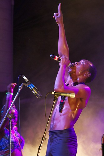Seun Kuti by spaceamoeba