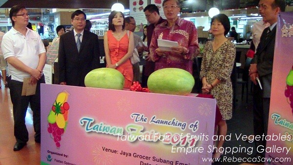 Taiwan Fair of Fruits and Vegetables, Empire Shopping Gallery-01