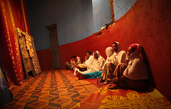 Women in Tekla Haimonot's church. Gondar, Ethiopia (NeSlaB .) Tags: world poverty africa portrait woman building church colors girl canon easter religious temple photo women dress christ cross faith prayer religion jesus young folklore clothes celebration holy meditation christianity ethiopia rite pilgrim rites developingcountries reportage pilgrims holyweek etiopia gondar gonder amhara thirld neslab