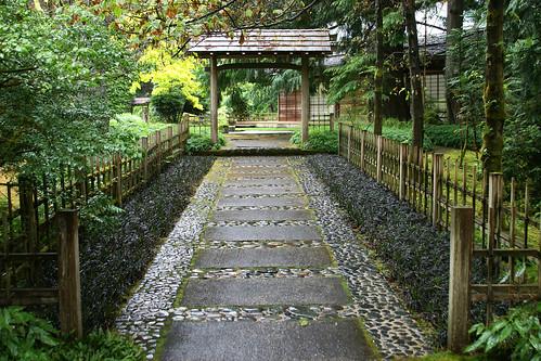 japanese garden pathway