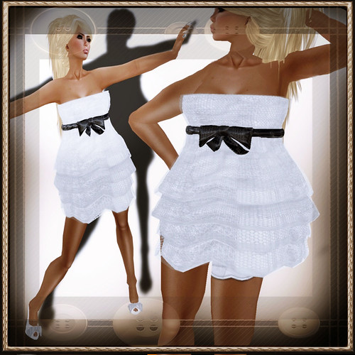 A&A Fashion Dolores [Sculpted]Dress White