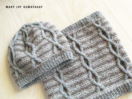 St. Léger: Hat and Cowl by Mary Joy Gumayagay