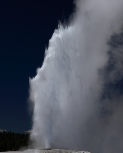 8x10 Old Faithful Yellowstone