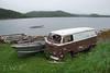 Parking Space (WanderWorks) Tags: canada bus vw newfoundland volkswagen boat labrador van camper combi kombi transporter t2 type2 dsc3403fg