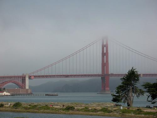 Golden Gate from Far Away