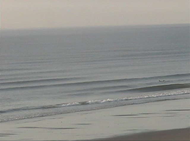 early morning surf check from bed