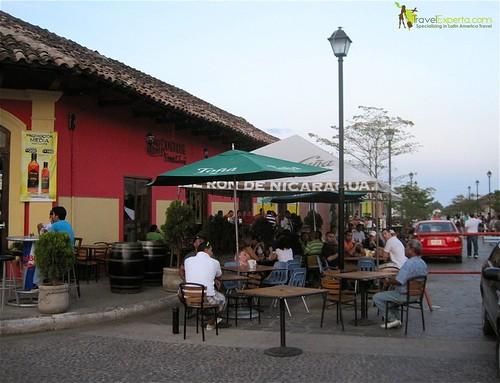Granada Nicaragua Outdoor Cafes Restaurants