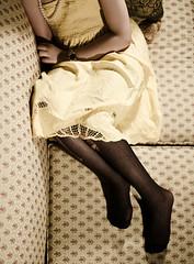 (Ebtesam.) Tags: black yellow legs saudi arabia jeddah abdulah  ebtesam