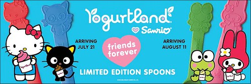 Yogurtland Limited Edition Spoons