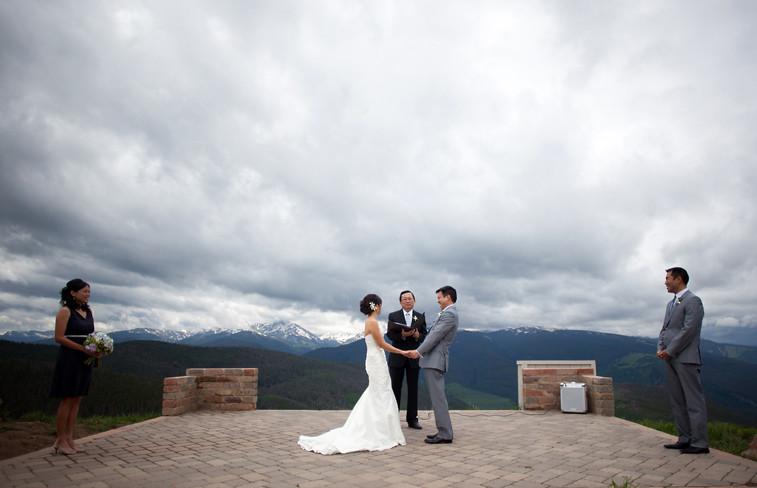 vail wedding deck photojournalism