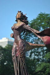 Magdalene  By Dessa Kirk.  ( 2 Views ) (Loco Steve) Tags: travel sculpture chicago art illinois july magdalene 2011 congressparkway dessakirk congresstrianglegarden