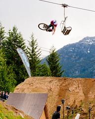 Crankworx-2011-Bike-Photographer-3683 (Reuben Krabbe) Tags: park blue sky sports sport yard fun whistler big jump jumping village bc air best tricks huge bone trick crankworx slopestyle