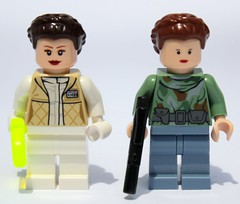 Hoth vs. Endor Leia