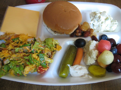 meal from July 31, 2011 at family gathering