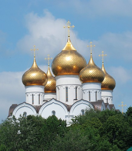 From flickr.com: Assumption Cathedral, Yaroslavl, Russia {MID-72251}