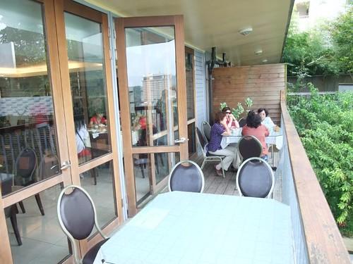 教師會館餐廳陽台