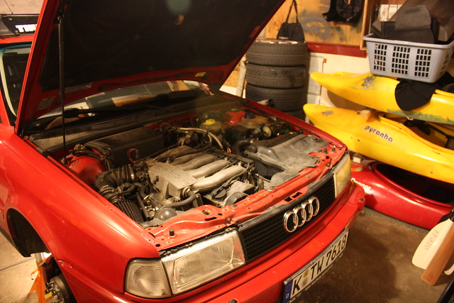 FS: Complete Audi 7a 20v conversion and/or parts, 01a