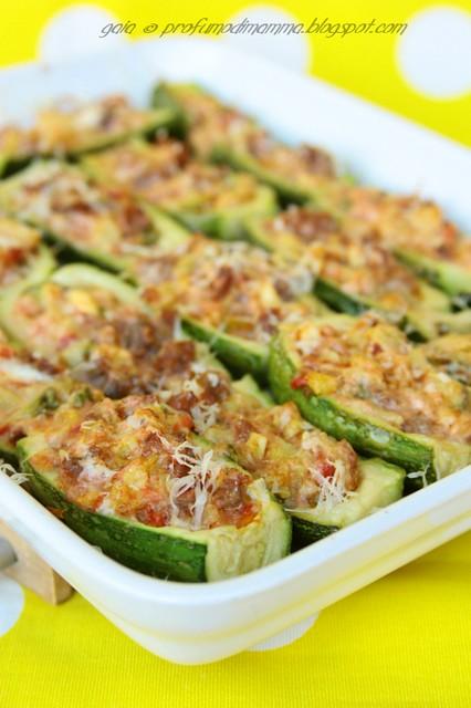 Zucchine barchette