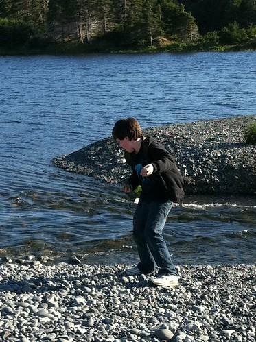 Born to throw rocks