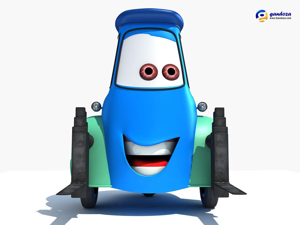 Disney Pixar Cars 2 - Guido