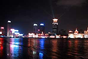 上海100万ドル夜景めぐり(夜景鑑賞のオプショナルツアー)