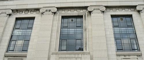 Graves Art Gallery, Sheffield, upper windows