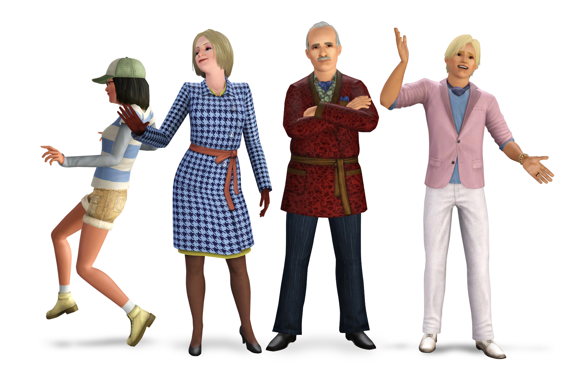 Sims 3 Hidden Springs Vanderburg Family
