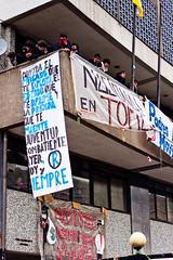 Disturbios en Marcha, 4 de agosto. (Xvant) Tags: chile riot gas protesta carabineros piedras educacion zorrillo disturbios fotoperiodismo lacrimogeno lanzaguas
