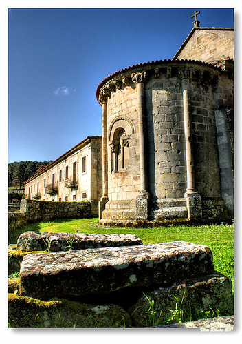 Cabeceira românica do Mosteiro de Longos Vales by VRfoto