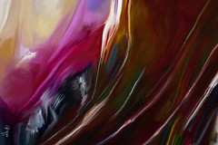 Digital Abstract Art (Jose F. Sosa) Tags: modern watercolor artwork artist contemporary traditional digitalart mexican american abstraction form shape impression abstractions transperent