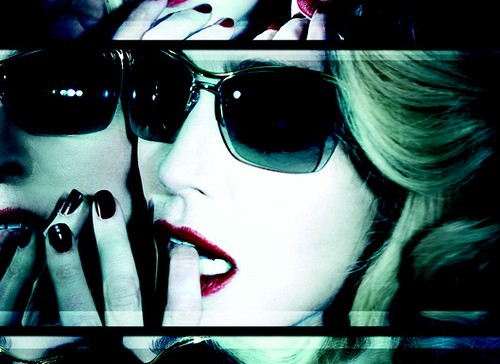 Madonna MDG fashion sunglasses