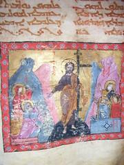 "Evangeliar von Hah: Auferstehung • <a style=""font-size:0.8em;"" href=""http://www.flickr.com/photos/65713616@N03/6011233026/"" target=""_blank"">View on Flickr</a>"