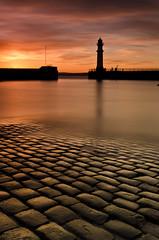 Newhaven Cobbles - Explored (Grant_R) Tags: longexposure sunset lighthouse scotland edinburgh harbour newhaven cobbles slipway hightide heliopan nd30 grantr hitech150