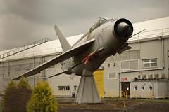 BAC Lightning (Richard Amor Allan) Tags: plane fighter jet lancashire lightning bae bac englishelectric samlesbury balderstone