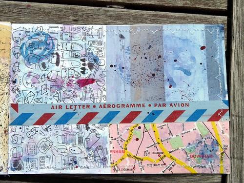 The collage Mini Book 4 Inside 10