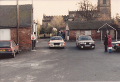251184 Penkridge Service Area (rob  68) Tags: park b car team europe kevin nissan rally group final terry 1984 co driver service 23 rs rac position registration lombard gormley penkridge 240 excluded exi kaby 7316 251184 ss56