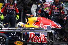 Sebastian Vettel (tik_tok) Tags: race grid europe hungary day sunday f1 racing grandprix formulaone formula1 fia hungaroring worldchampionship motorsport autosport 2011 openwheel singleseater mogyorod mogyoród sebastianvettel
