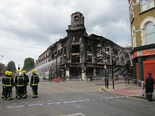 Firefighters - High Road Tottenham & Lansdowne Road