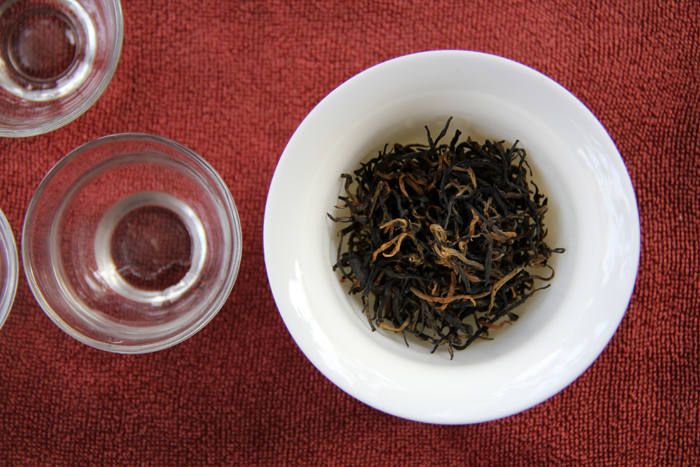 Blackish Red Chinese Tea