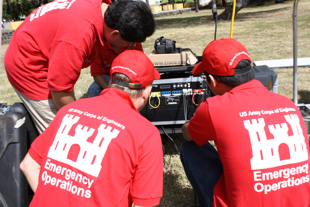 USACE CTOC team tests equipment